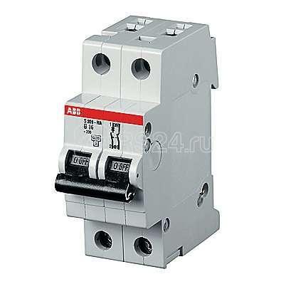 Выключатель автоматический модульный 2п (1P+N) K 63А 10кА S201P ABB 2CDS281103R0607 купить в интернет-магазине RS24
