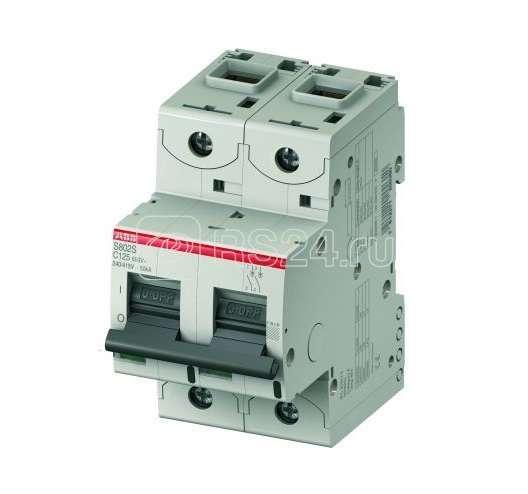 Выключатель автоматический модульный 2п C 32А 50кА S802S ABB 2CCS862001R0324 купить в интернет-магазине RS24
