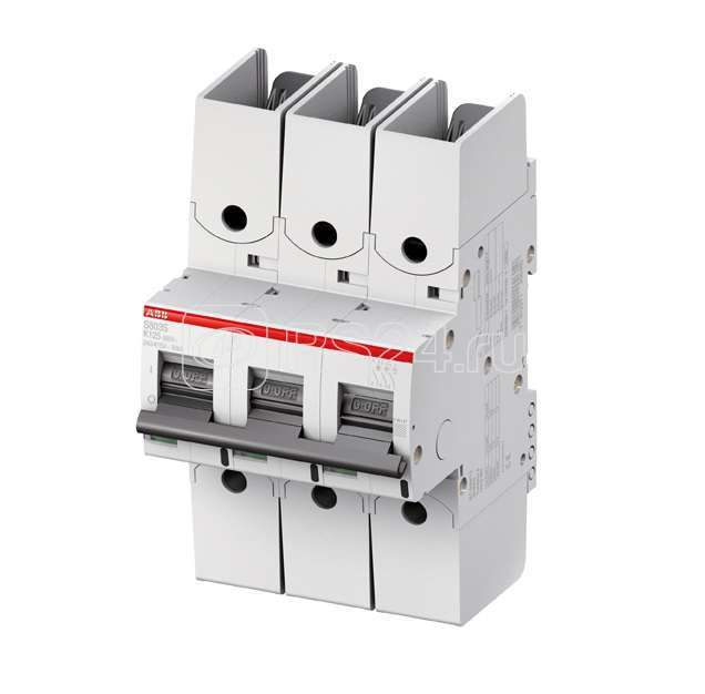 Выключатель автоматический модульный 3п KM 25А 50кА S803S R ABB 2CCS863002R0516 купить в интернет-магазине RS24