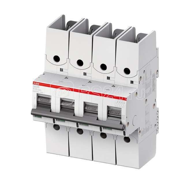 Выключатель автоматический модульный 4п K 125А 50кА S804S R ABB 2CCS864002R0647 купить в интернет-магазине RS24