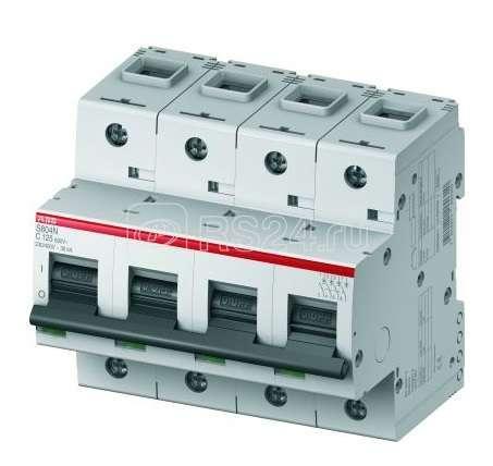 Выключатель автоматический модульный 4п C 16А 20кА S804N ABB 2CCS894001R0164 купить в интернет-магазине RS24
