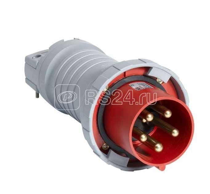 Вилка кабельная 63А 3P+N+E IP67 7ч ABB 2CMA166800R1000 купить в интернет-магазине RS24