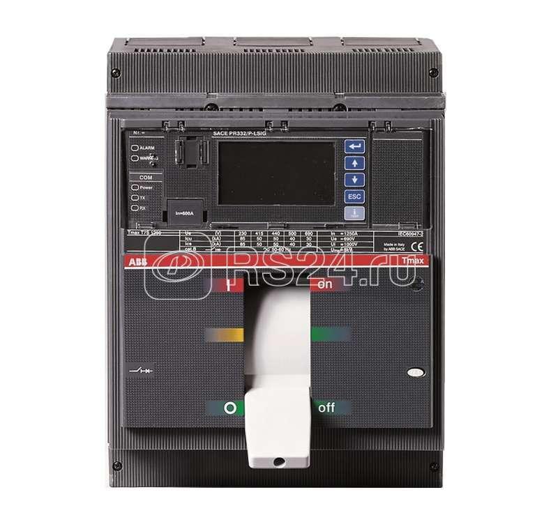Выключатель авт. 3п T7H 1250 PR332/P LSIRc In=1250А 3p F F ABB 1SDA062904R1 купить в интернет-магазине RS24