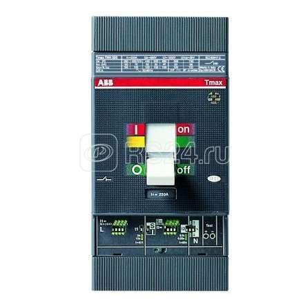 Выключатель авт. для защиты эл. двиг. 3п T4N 250 Ekip M- LRIU In=100 3p F F ABB 1SDA054522R1 купить в интернет-магазине RS24