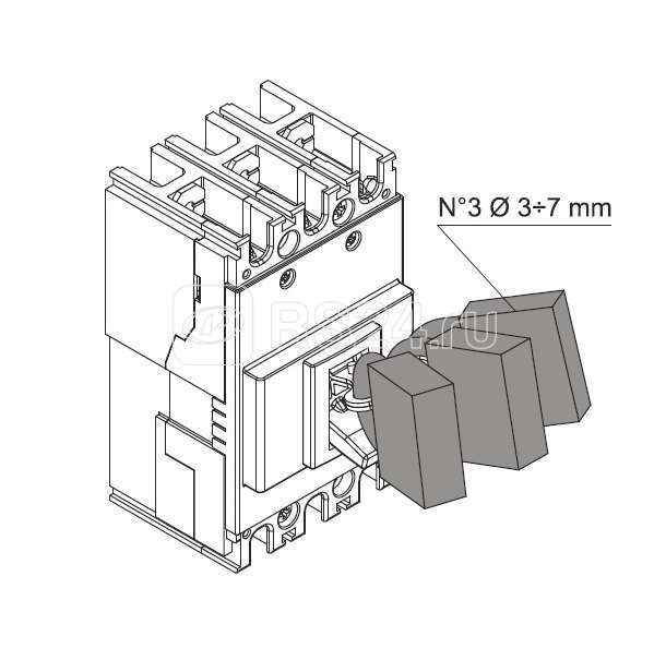 Блокировка съемная в разомкн. сост. PLL A1-A2 ABB 1SDA066259R1 купить в интернет-магазине RS24