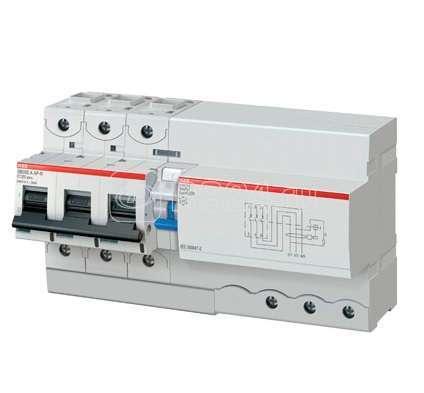 Выключатель авт. диф. тока C 125А 300мА A S DS803S ABB 2CCC863005R0844 купить в интернет-магазине RS24