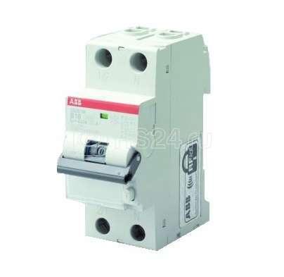 Выключатель автоматический дифференциального тока 2п B 6А 30мА тип A 10кА DS201 M ABB 2CSR275140R1065 купить в интернет-магазине RS24