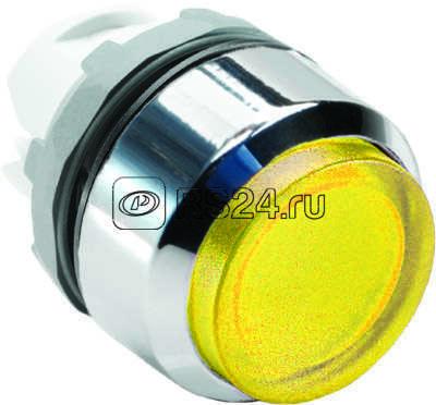 Кнопка MP4-21Y выступающая с подсветкой с фикс. жел. (только корпус) ABB 1SFA611103R2103 купить в интернет-магазине RS24