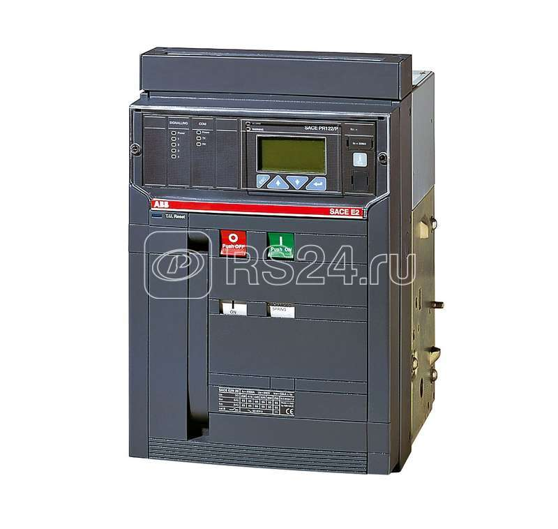 Выключатель авт. 3п E2N 1250 PR122/P-LSI In=1250А 3p W MP выкат. ABB 1SDA055876R1 купить в интернет-магазине RS24