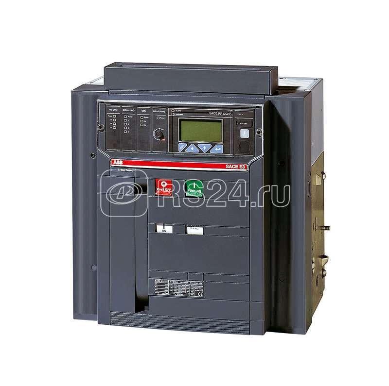 Выключатель авт. 4п E3S 3200 PR121/P-LI In=3200А 4p F HR стац. ABB 1SDA056312R1 купить в интернет-магазине RS24