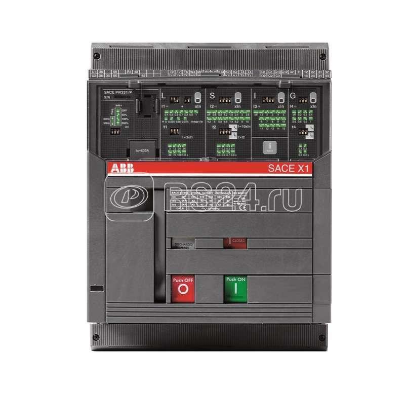 Выключатель авт. 4п X1B 630 PR332/P LI In=630А 4p F F стац. ABB 1SDA062008R1 купить в интернет-магазине RS24