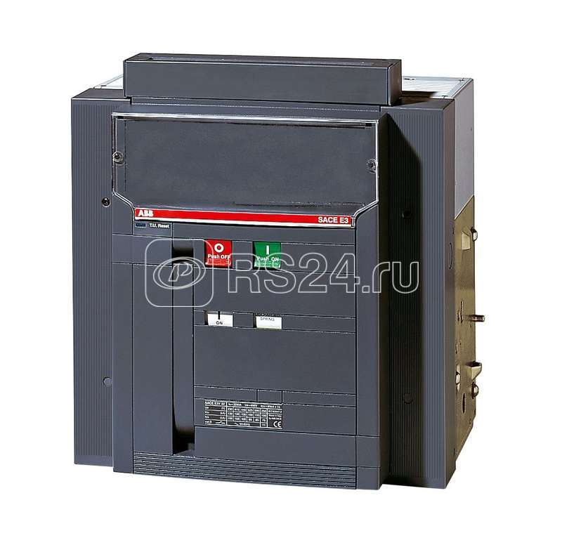 Выключатель-разъединитель 4п E3S/MS 1000 4p W MP LTT (исполнение на -40С) выкат. ABB 1SDA059428R5 купить в интернет-магазине RS24