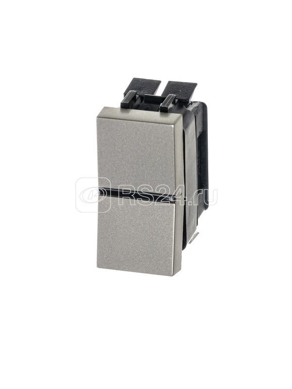 Механизм переключателя 1-кл. с клавишей 1мод. Zenit шампань ABB N2102 CV купить в интернет-магазине RS24