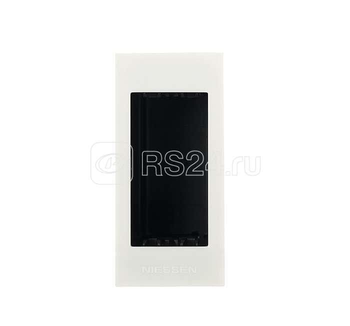 Цоколь для установки в мебель/перегородки на 1мод. Zenit бел. ABB 2CLA267100N1101 купить в интернет-магазине RS24