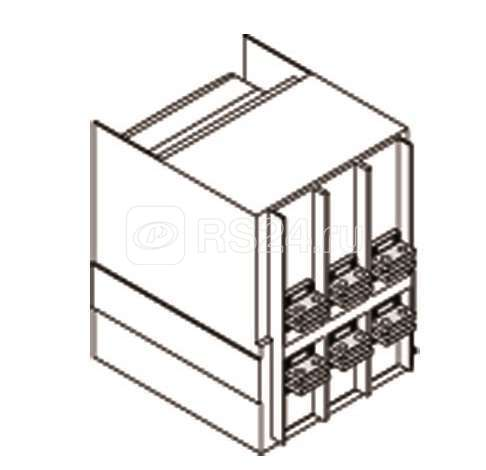 Комплект силовых выводов фикс. части HR/VR E1.2 W FP (уп.4шт) ABB 1SDA073950R1 купить в интернет-магазине RS24