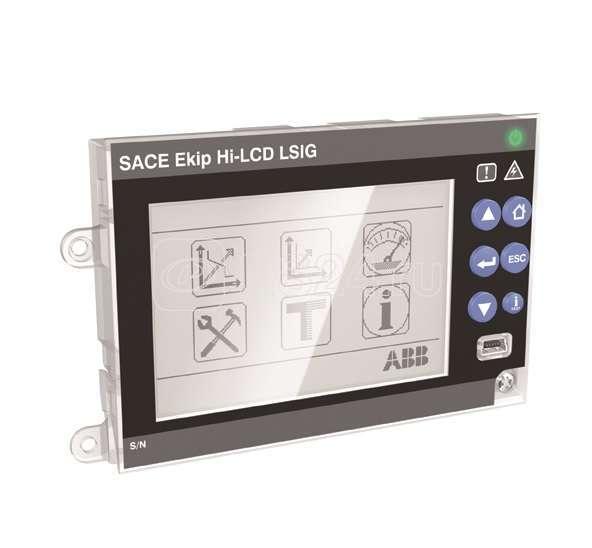 Расцепитель защиты Ekip LCD LSI E1.2..E6.2 ABB 1SDA074205R1 купить в интернет-магазине RS24