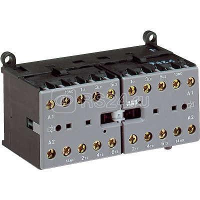 Миниконтактор VBC7-30-01 12А 400В AC3 катушка 24B DС ABB GJL1313901R0011 купить в интернет-магазине RS24