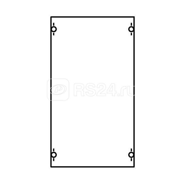 Панель с защитным пластроном и DIN-рейкой ABB 1B00A купить в интернет-магазине RS24