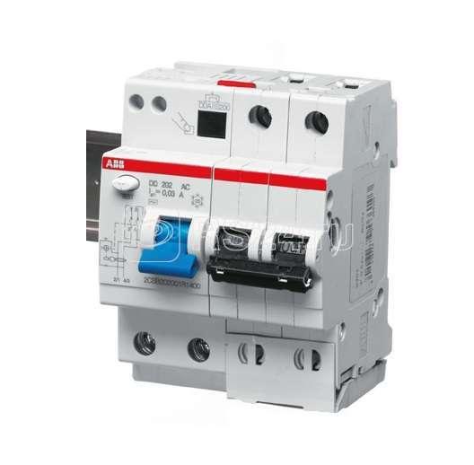 Выключатель автоматический дифференциального тока 2п C 63А 30мА тип AC 6кА DS202 4мод. ABB 2CSR252001R1634 купить в интернет-магазине RS24