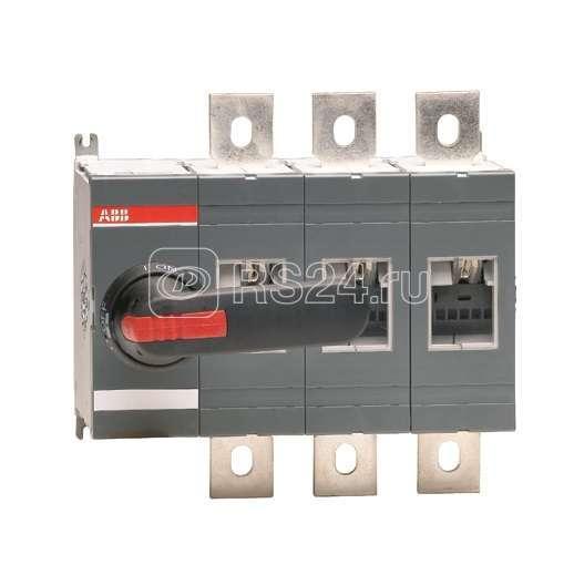 Рубильник 4п OT630 E04 630А (без ручки упр.) ABB 1SCA022776R3390 купить в интернет-магазине RS24