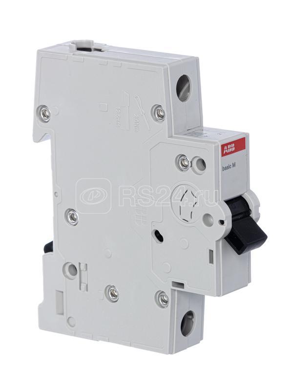 Выключатель автоматический модульный 1п C 25А 4.5кА Basic M BMS411C25 ABB 2CDS641041R0254