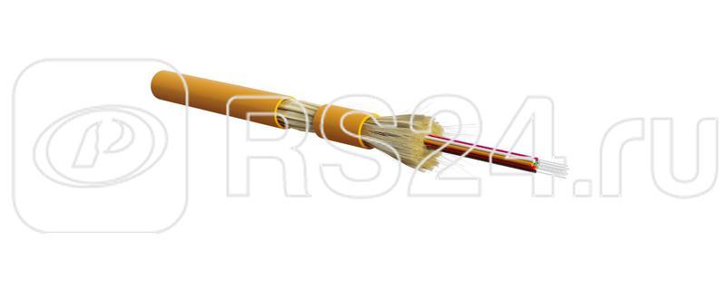 Кабель FO-DT-IN-62-8-LSZH-OR волоконно-оптический 62.5/125 (OM1) многомод. 8 волокон плотное буф. покрытие (tight buffer) для внутр. прокладки LSZH (-40град.C - +70град.C) оранж. Hyperline 388374 купить в интернет-магазине RS24