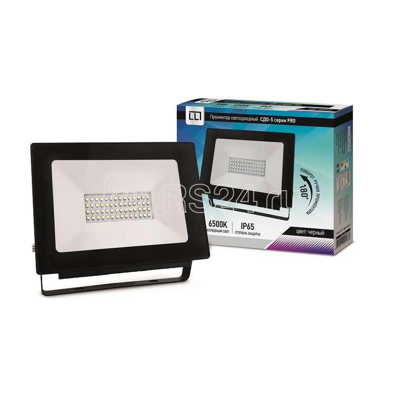 Прожектор СДО-5-50 серия PRO LED 50Вт IP65 6500К 4750лм LLT 4690612005386