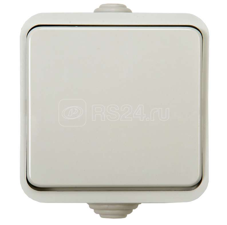 Выключатель 1-кл. AQUA п / герм. 3100 бел. ASD / IN HOME 4690612000428 купить в интернет-магазине RS24