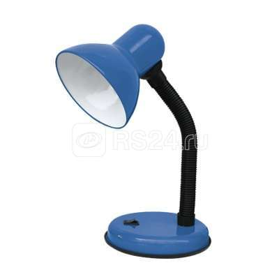 Светильник настольный под лампу СНО-02С на основании 60Вт E27 син. (мягкая упак.) IN HOME 4690612012476 купить в интернет-магазине RS24