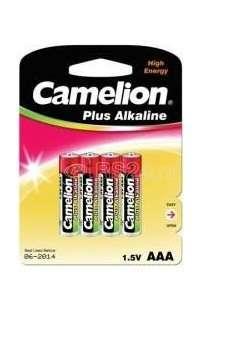 Элемент питания алкалиновый LR LR03 BL-4 (блист.4шт) Camelion 7369