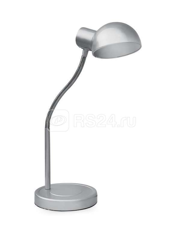 Светильник KD-306 настол. база 220В 40Вт E27 серебр. Camelion 10501 купить в интернет-магазине RS24