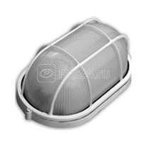Светильник НБП 04-100-002 Банник овал IP54 Корпус бел. с решеткой Витебск 403841 купить в интернет-магазине RS24