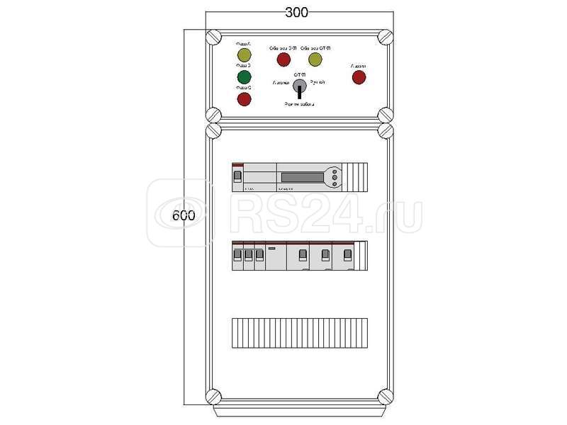Щит управления электрообогревом HS 3х1700 D850 (с терморег.) ПСО DEVIbox DBS003 купить в интернет-магазине RS24