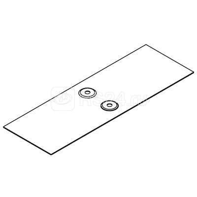 Накладка соединительная CGB для лотка осн. 500 гор. оцинк DKC 37357HDZ