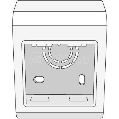 Коробка установочная под GEWISS SYSTEM 2 мод. PDG ДКС 10023 купить в интернет-магазине RS24