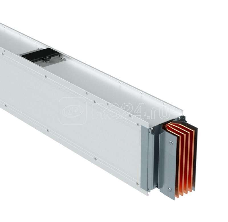 Секция шинопровода прямая 2+2 точек отвода L=0-2999мм Cu 3P+N+Pe 6400А IP55 DKC PTC64ESP23AA000 купить в интернет-магазине RS24
