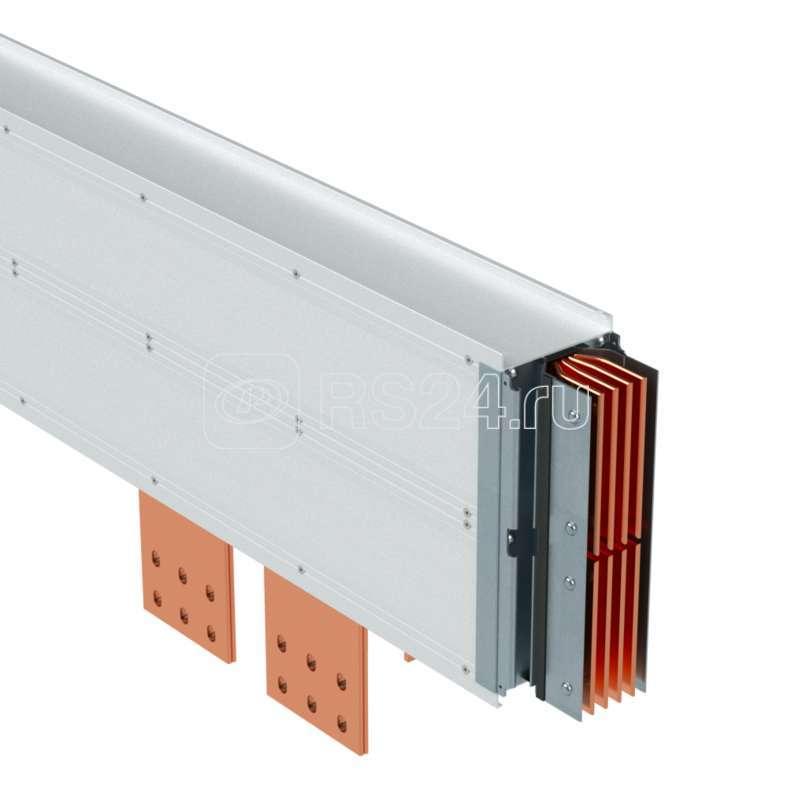 Секция подключения шинопровода к сухому трансформатору тип 2 Cu 3P+N+Pe 6400А IP55 ДКС PTC64ETPP2AA000 купить в интернет-магазине RS24