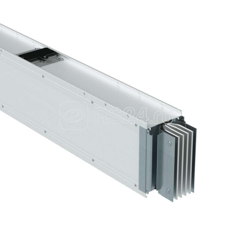 Секция шинопровода прямая 4+4 точек отвода L=0-2999мм Al 3P+N+Pe+Fe 4000А IP55 ДКС PTA40GSP25AA000 купить в интернет-магазине RS24