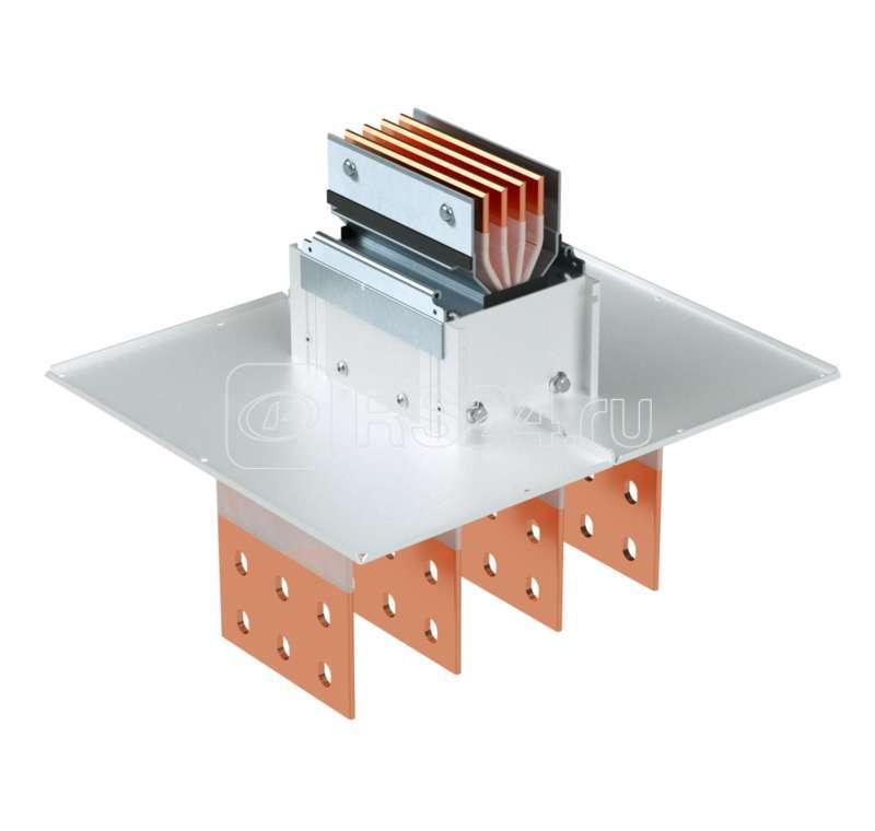 Секция подключения к трансформатору/щиту тип 2 Cu 3P+N+Pe+Fe 1250А IP55 DKC PTC13GTST2AA000 купить в интернет-магазине RS24