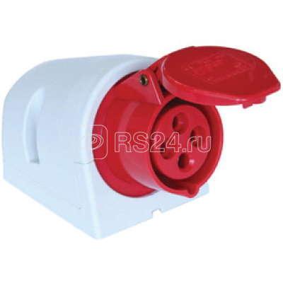 Розетка наруж. уст. 32А 230В 2P+E IP44 DKC DISW020323