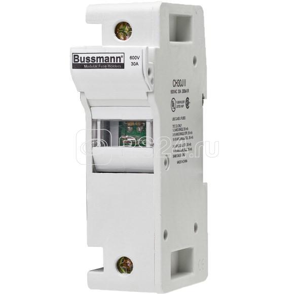 Держатель модульный 1П класс J 30А c индикация EATON CH30J1I купить в интернет-магазине RS24