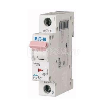 Выключатель автоматический модульный 1п D 15А 6кА PL6-D15/1 EATON 164764 купить в интернет-магазине RS24