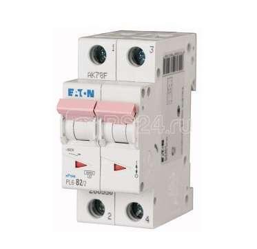 Выключатель автоматический модульный 2п C 3А 6кА PL6-C3/2 EATON 164822 купить в интернет-магазине RS24