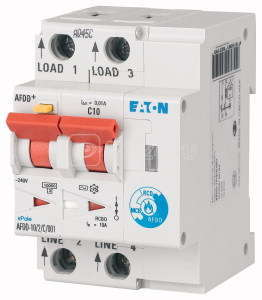 Устройство обнаружения дуги AFDD-10/2/B/001-A EATON 187165 купить в интернет-магазине RS24