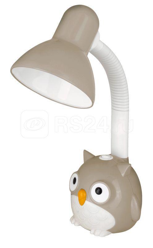 Светильник KD-380 С09 настол. Сова 230В 40Вт E27 сер. Camelion 12606 купить в интернет-магазине RS24