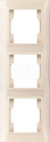 Рамка 3-м V01-22-А32-М верт. крем. Volsten 9977 купить в интернет-магазине RS24