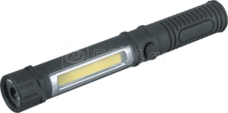 Фонарь 14 030 NPT-W05-3AAA для работы 1LED(1Вт)+1COB LED(1Вт) блист. Navigator 14030 купить в интернет-магазине RS24