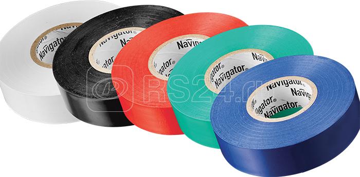 Изолента 61 313 NIT-B15-10/S 5 цветов Navigator 61313 купить в интернет-магазине RS24