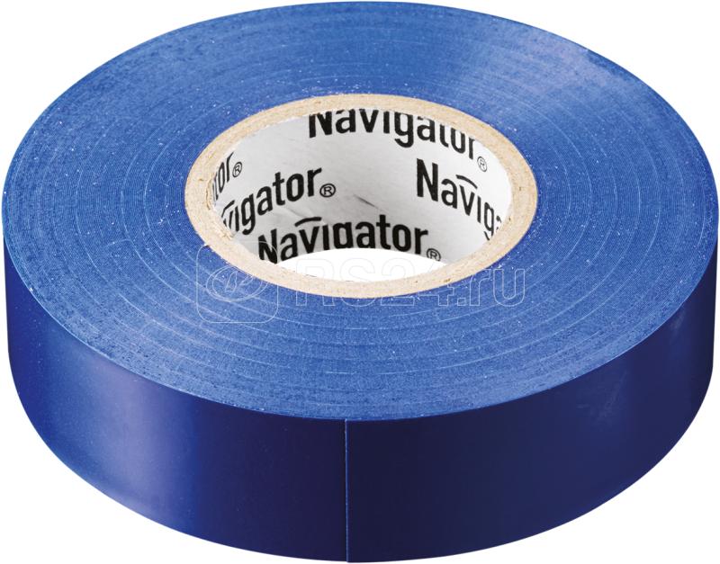 Изолента ПВХ 15мм (рул.20м) син. NIT-B15-20/B Navigator 71107