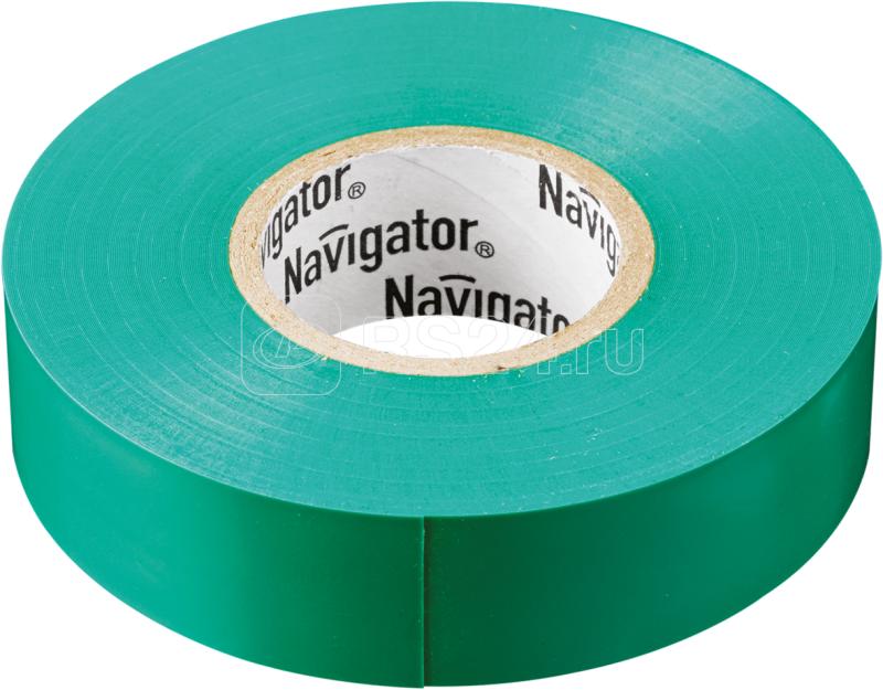 Изолента ПВХ 19мм (рул.20м) зел. NIT-A19-20/G Navigator 71113 купить в интернет-магазине RS24